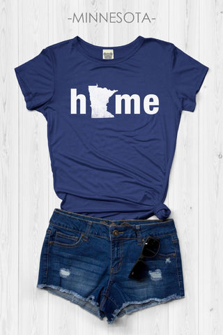 MN State Home Graphic Tee