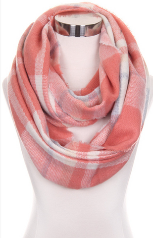 Infinity Scarf - Plaid