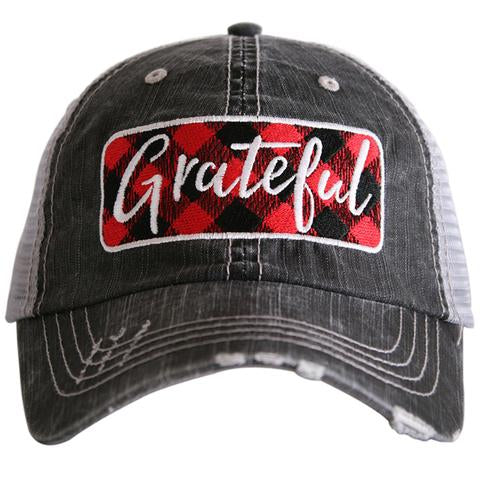 Grateful Distressed Trucker Hat