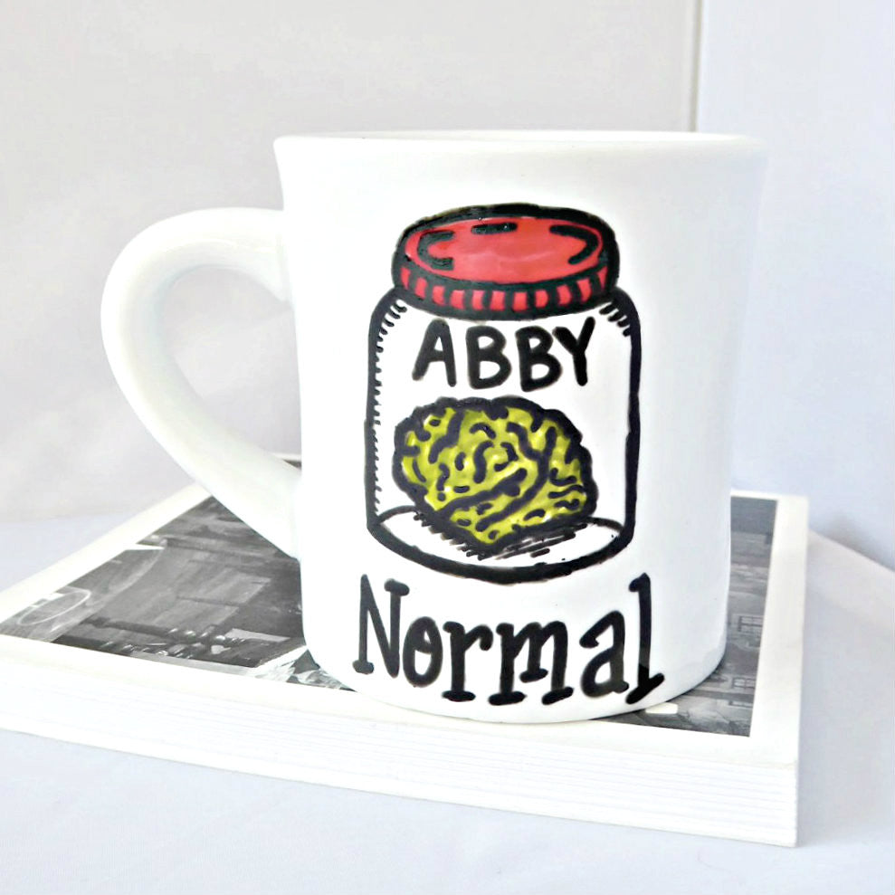 Abby Normal Funny Diner Mug