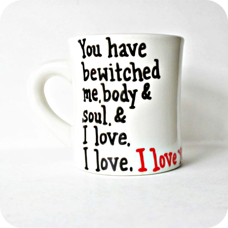 Pride and Prejudice Quote Coffee Mug