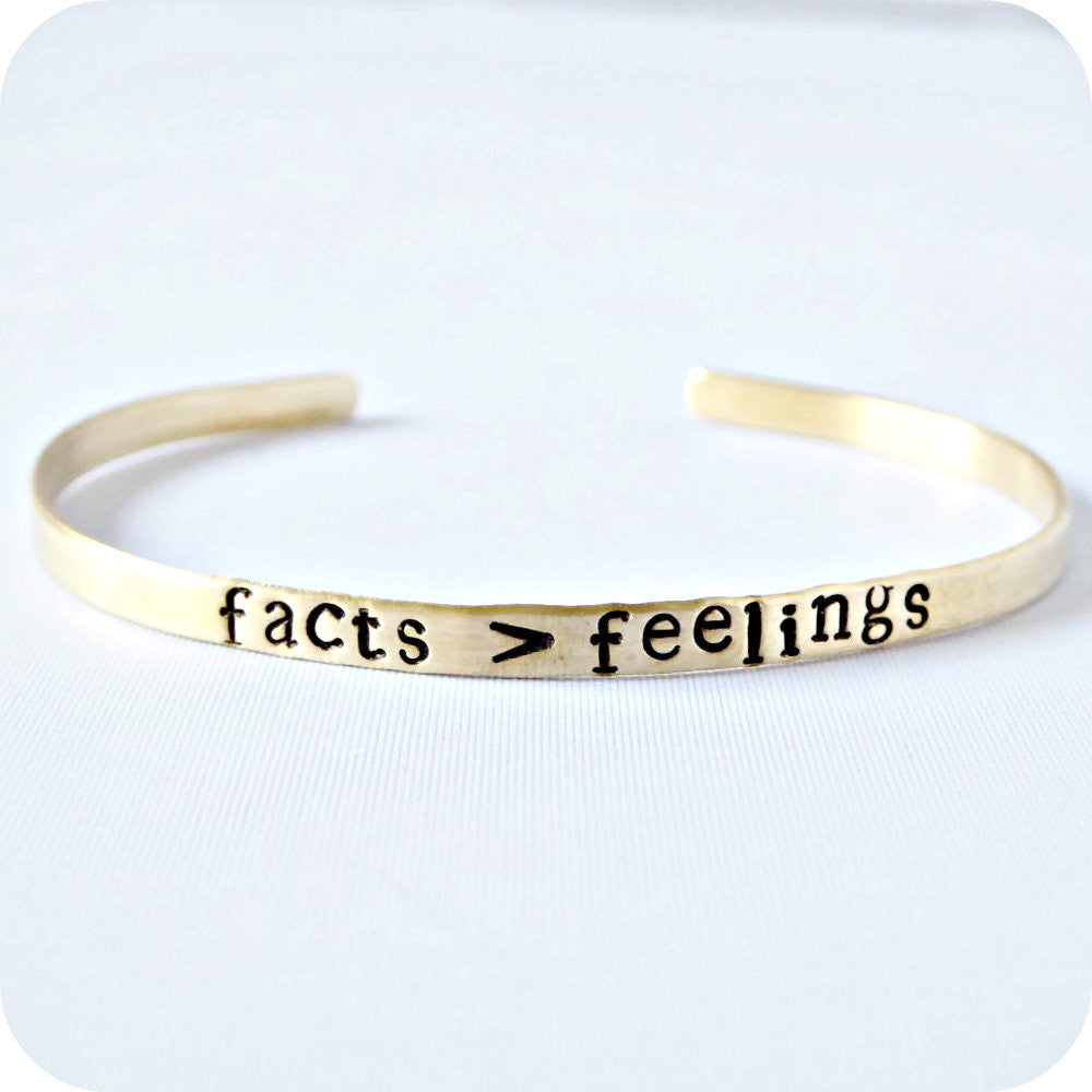 Funny Teacher Bracelet Hand Stamped Skinny Cuff