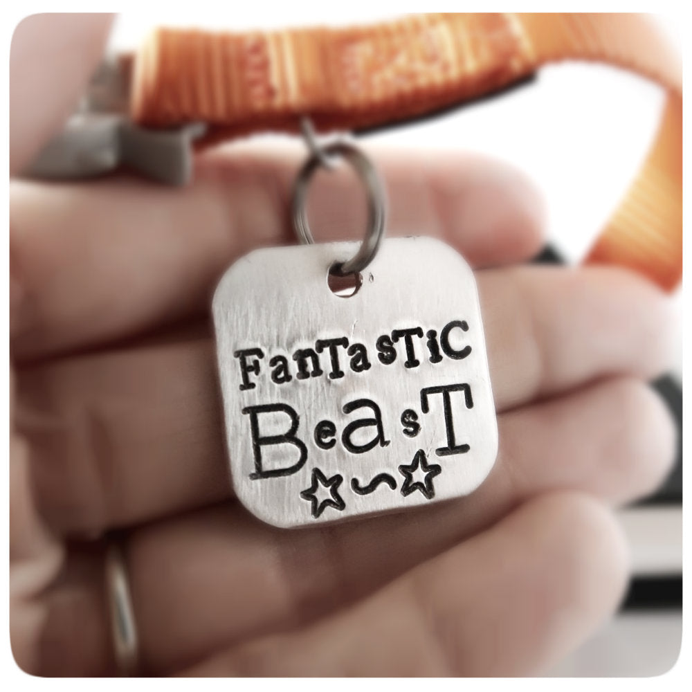 Fantastic Beast Dog ID Pet Tag