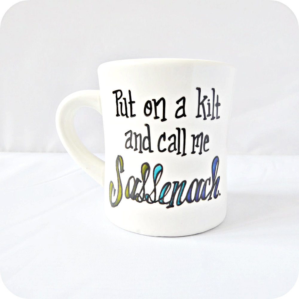 Funny Coffee Mug Clare James Fraser