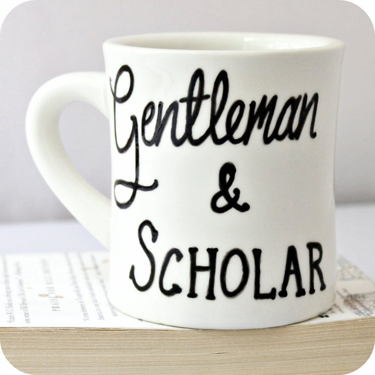 Gentleman and Scholar Coffee Mug