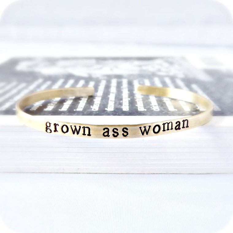 Grown Ass Woman Funny Bracelet
