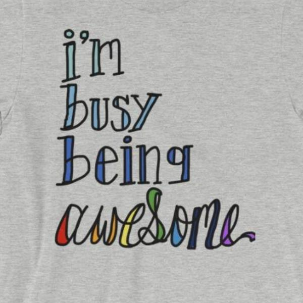 Awesome Gray T-Shirt for Men and Women