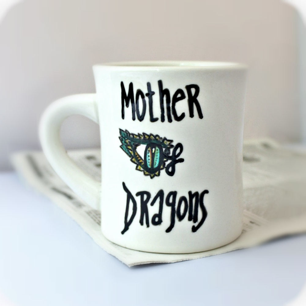 Mother of Dragons Game of Thrones Coffee Mug