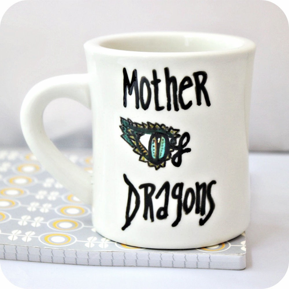 Funny Game of Thrones Mother of Dragons Coffee Mug
