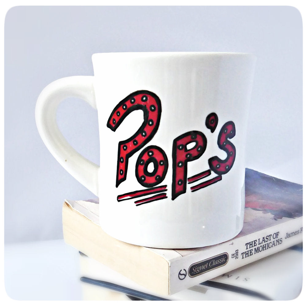 Riverdale Mug Pop's Hand Painted Diner Mug
