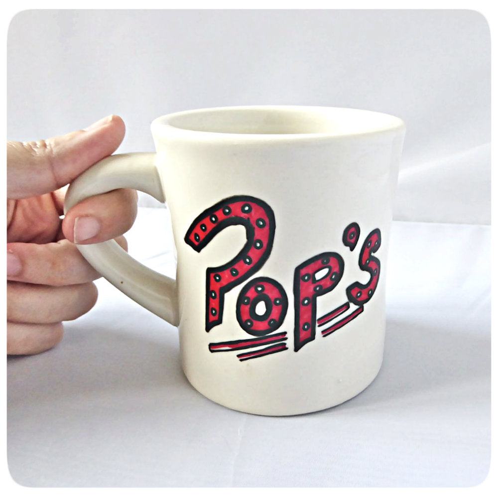 Riverdale Coffee Mug Pops Chocklit Shop Hand painted