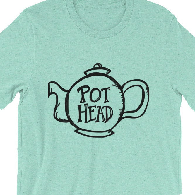 Funny Tea Drinker T-Shirt Mint Green Mens Womens