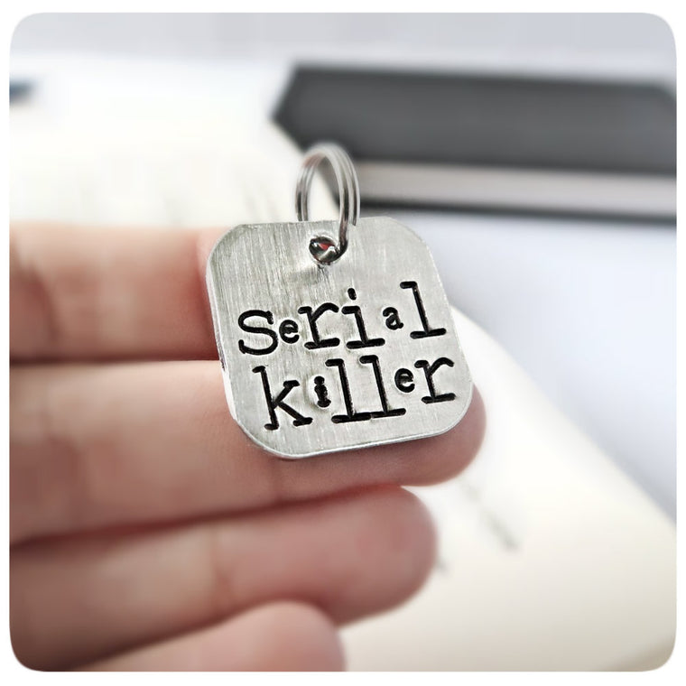 Serial Killer Funny Pet Id Tag