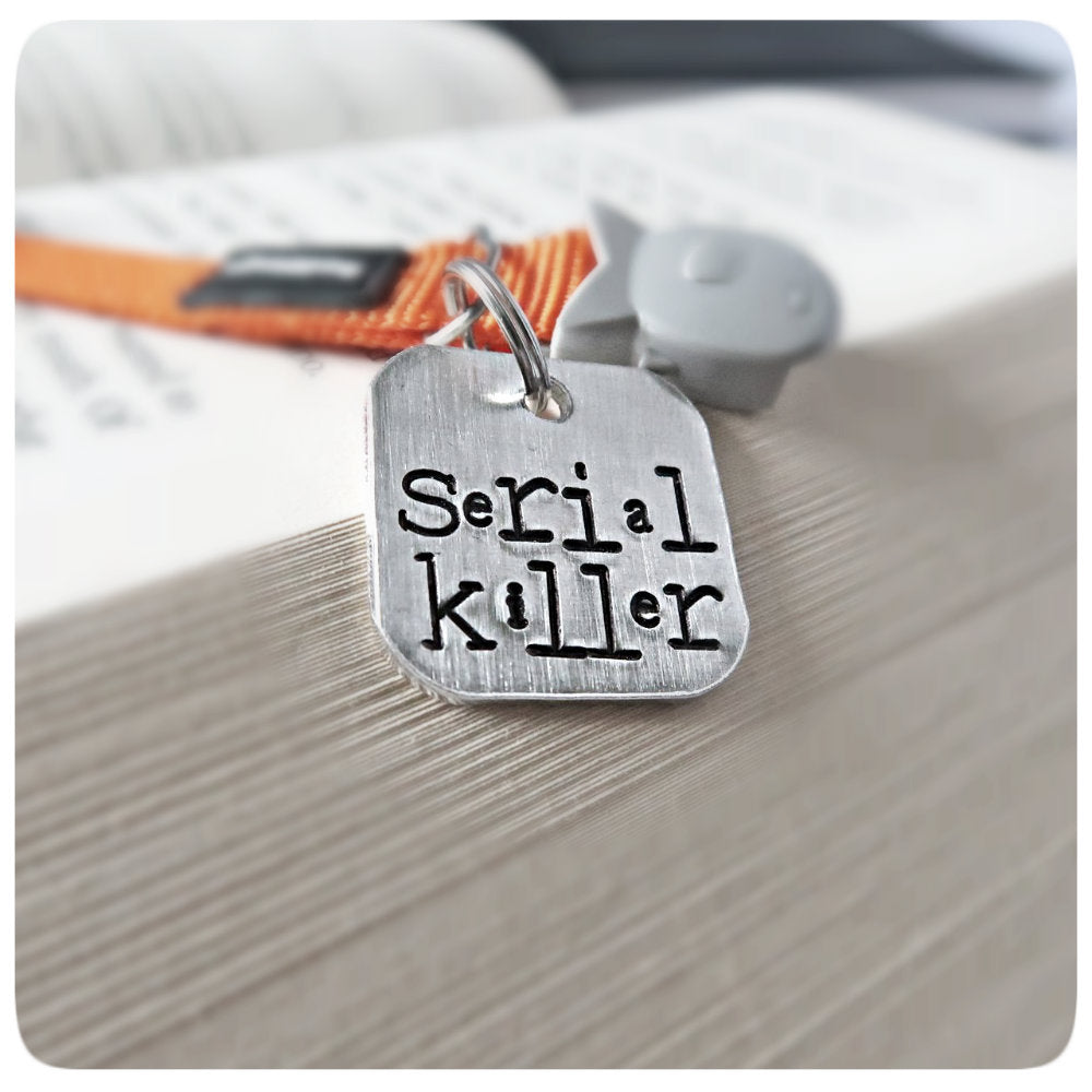 Serial Killer Funny Personalized Dog Id Tag