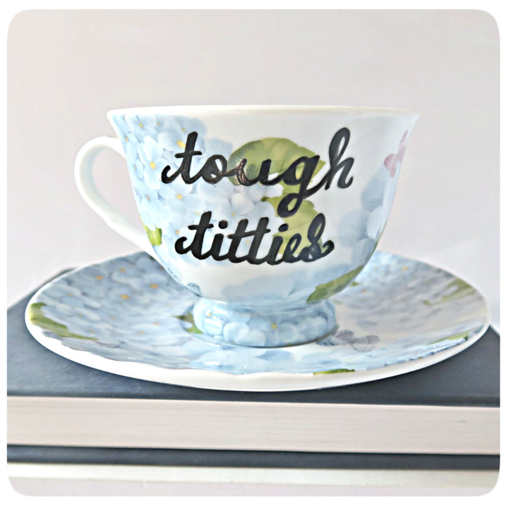 Funny Best Friend Gifts for Women Tea Cup and Saucer