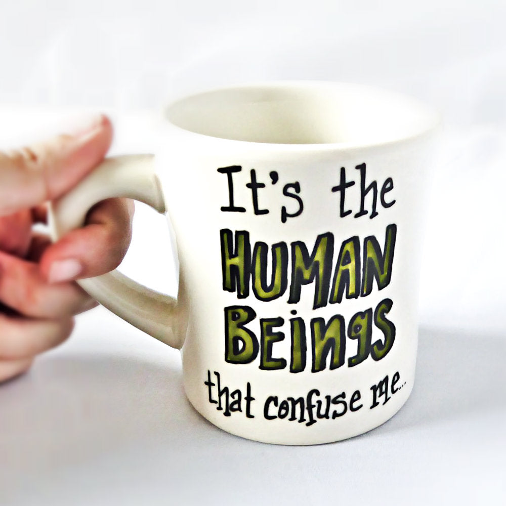 Human Beings Confuse Me Westworld Mug