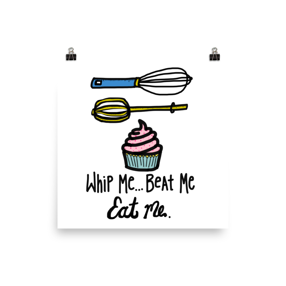 Funny foodie gift naughty home decor funny wall art