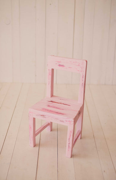 Pink Vintage Little Wood chairs