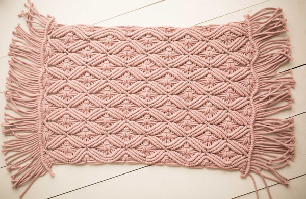 Macrame Rose Layer