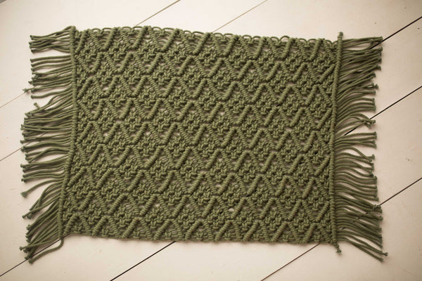 Macrame Green Layer