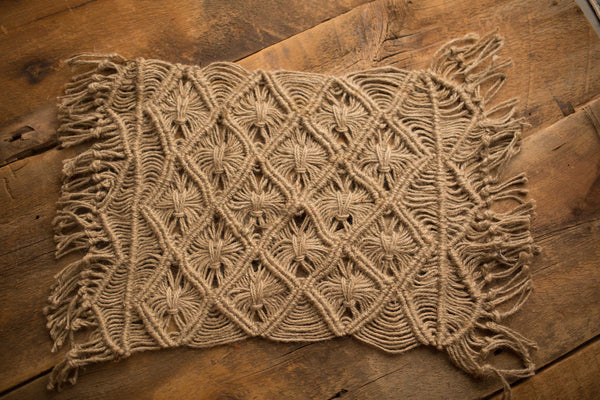 Macrame Natural Twine Layer