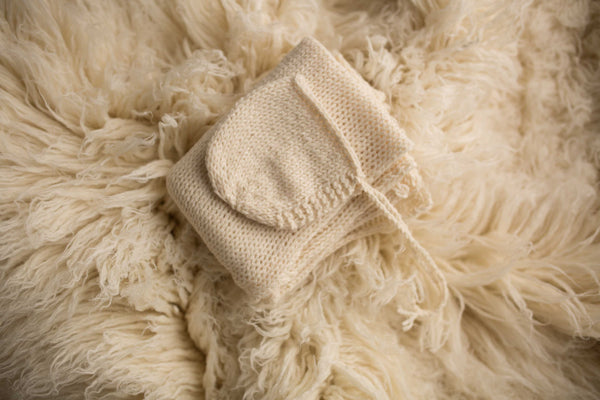 CREAM Knit Set (Matches Winter White)