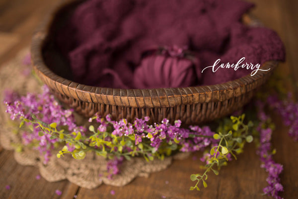 Plum Basket  Styled Set