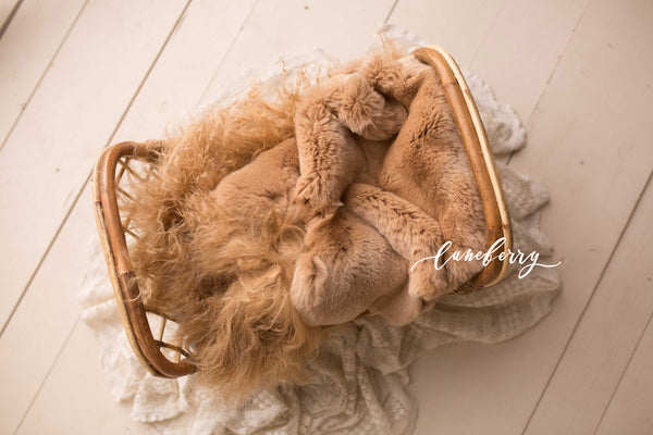 Cappuccino Sheepskin & Rabbit Fur