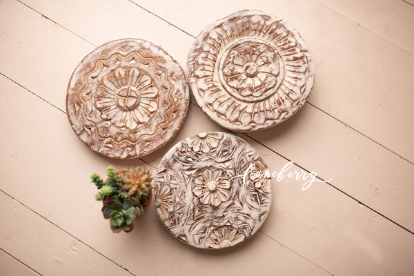 Carved Cake Stands