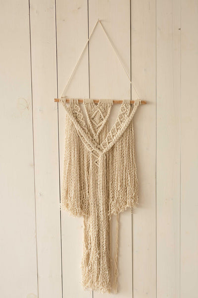 Macrame Wall Hanging Piece - Medium