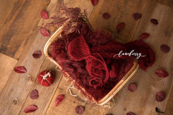 Cranberry Diamond Bed Styled Set