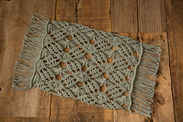 Macrame Teal Layer