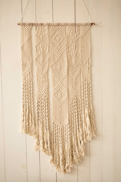 Macrame Wall Hanging Piece - Large