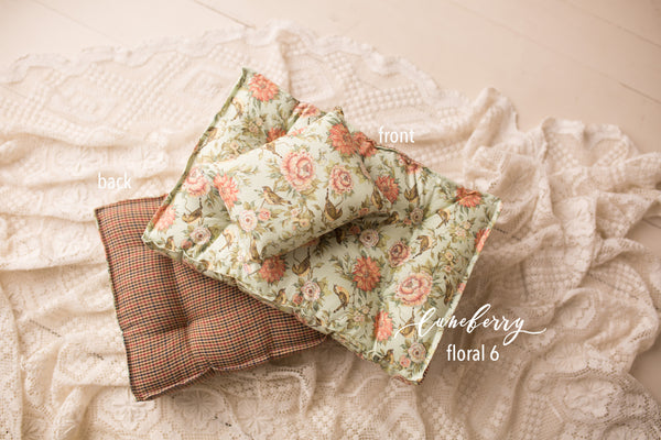 Bed Mattress Set - Floral