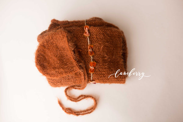 Rust Knit Set