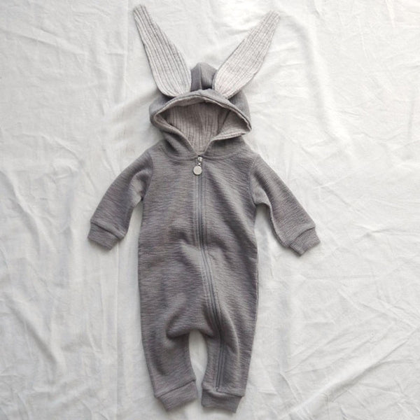 Knit Bunny Romper One-piece [NEW]