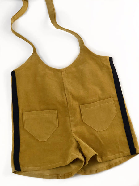 Butterscotch Corduroy Shortall
