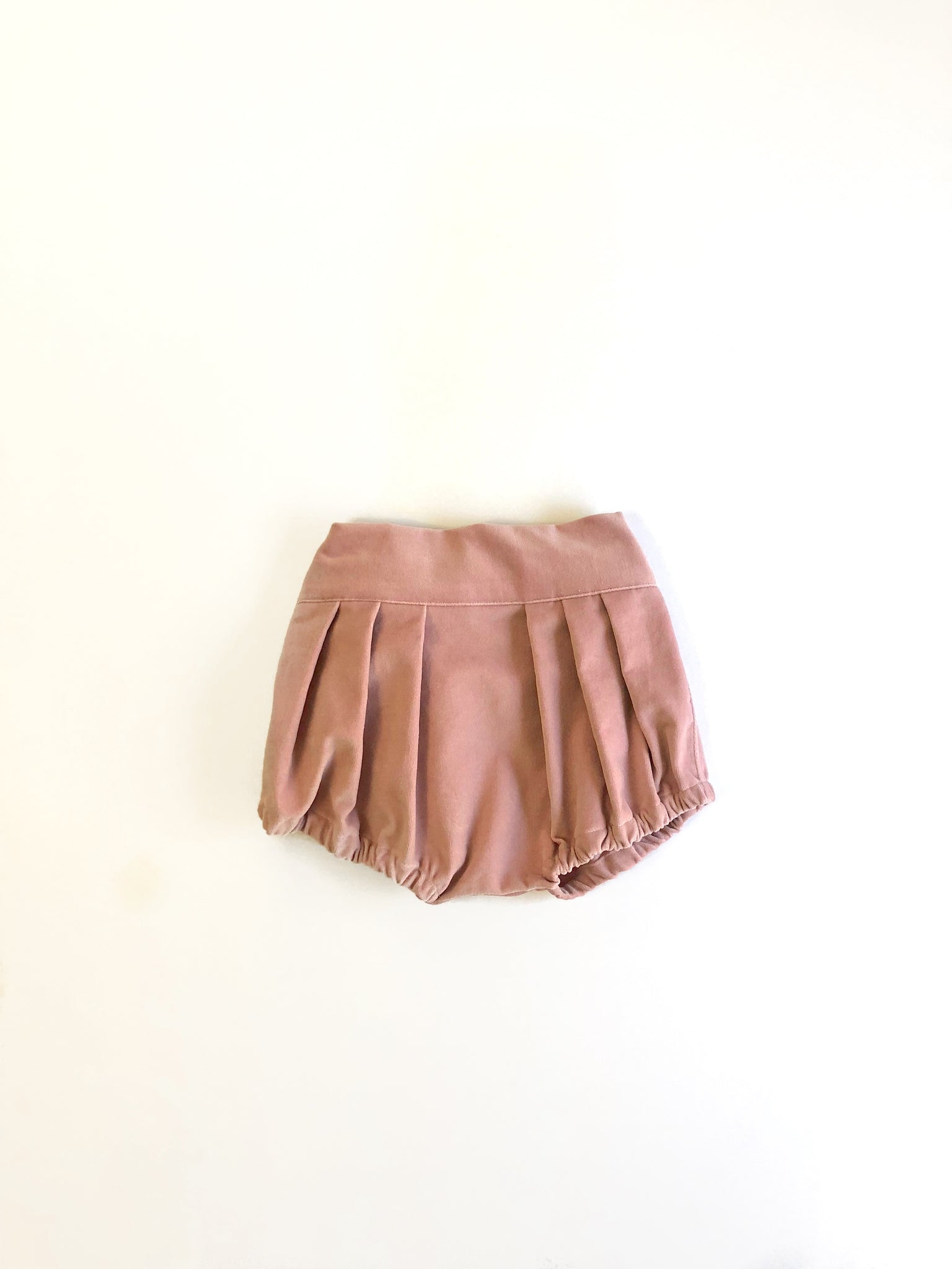 Pink Champagne Velvet Clara Bloomers