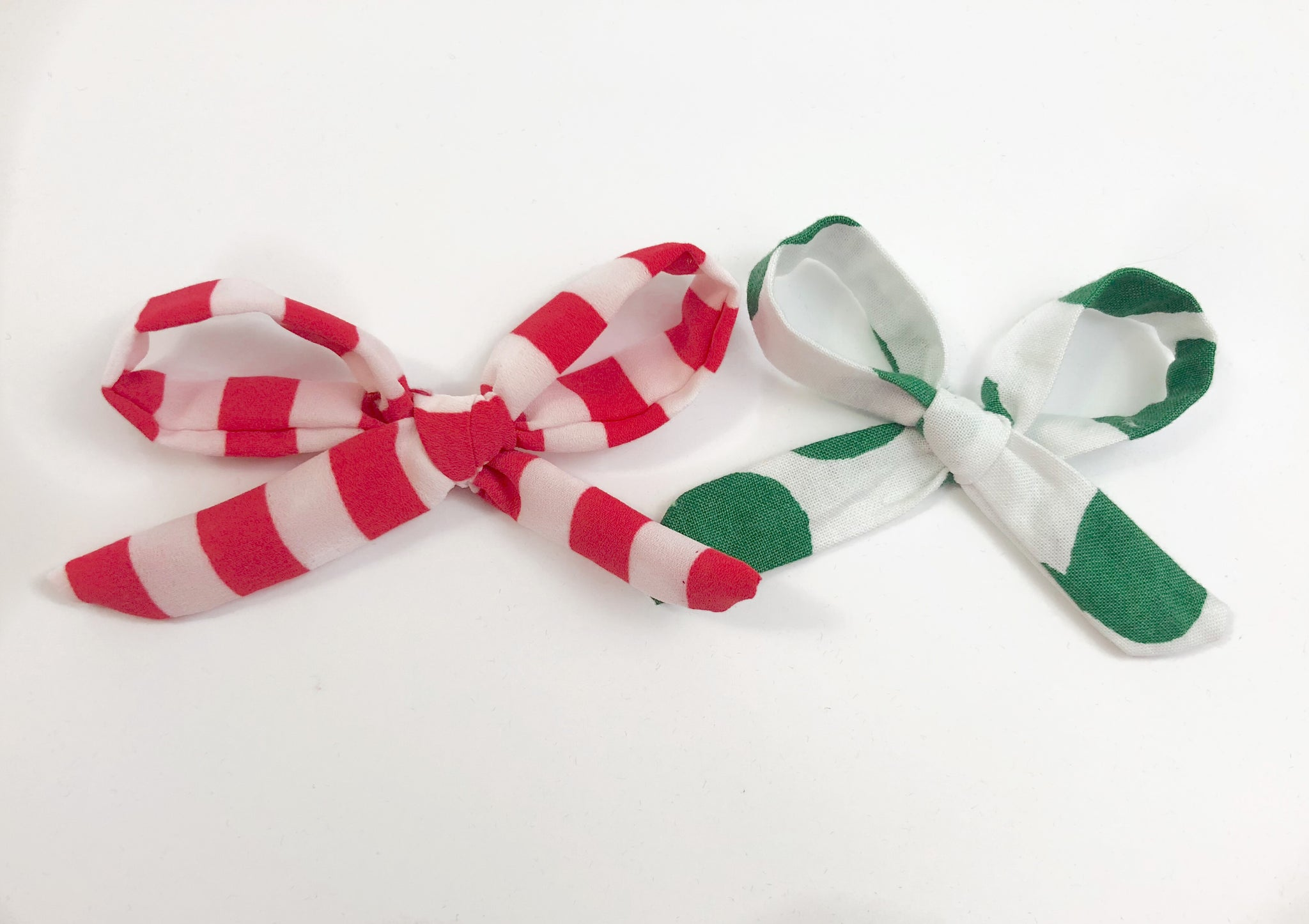 Rosie Bows - Red and Green