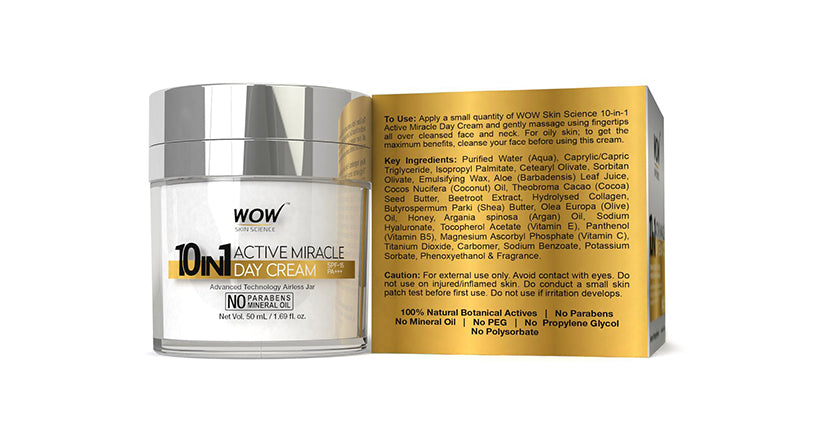 WOW 10in1 Active Miracle Day Cream