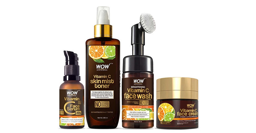 WOW Skin Science Vitamin C Range Kit
