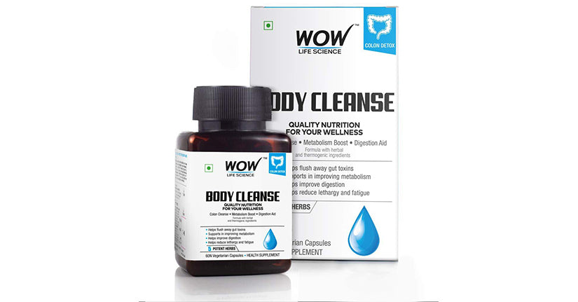 Wow Life Science Body Cleanse Capsules
