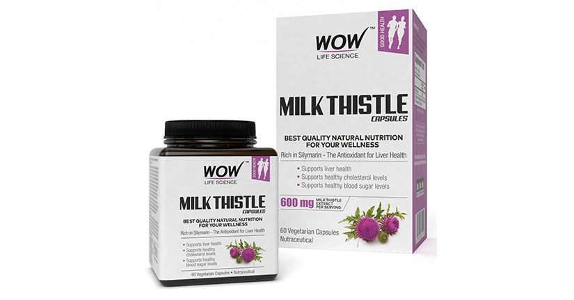 WOW Life Science Milk Thistle Capsules