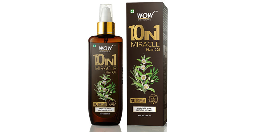 wow skin science 10 in one hair oil