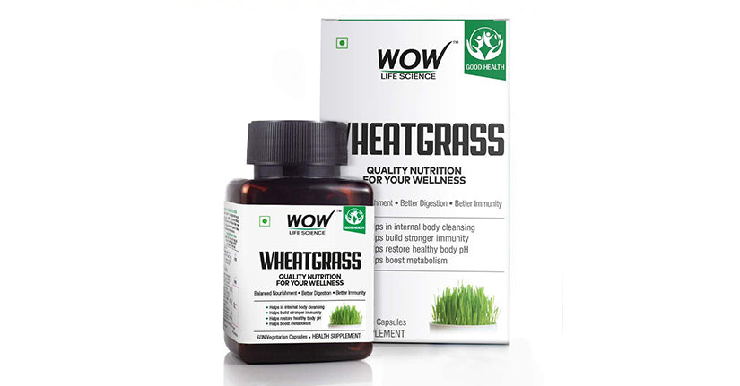 WOW Life Science Wheatgrass Capsules