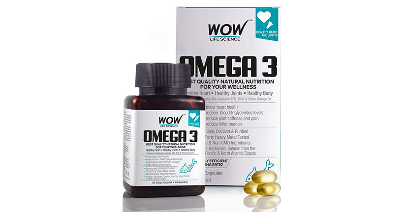 WOW Life Science Omega3 Capsules