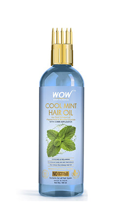 WOW Skin Science Cool Mint Hair Oil