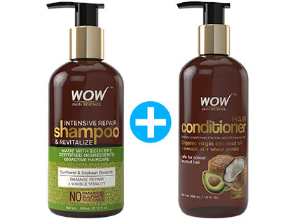 wow Intensive Repair Shampoo and Revitalize