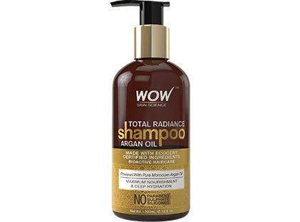 Total Radiance Argan Oil Shampoo