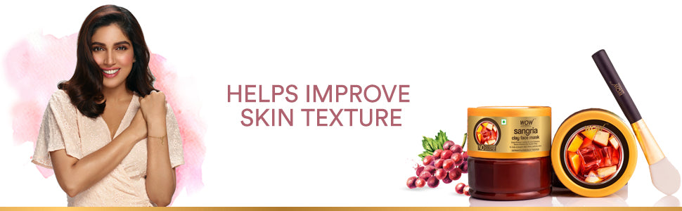 WOW Skin Science Sangria clay face mask